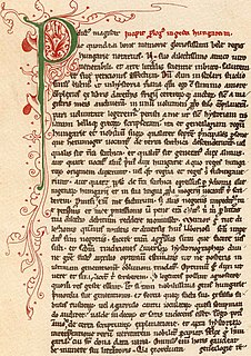 <i>Gesta Hungarorum</i> The first extant Hungarian book about history