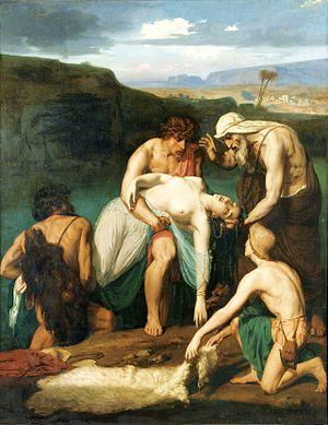 Félix-Henri Giacomotti - Zenobia Discovered on the Banks of the Araxes