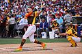 Giancarlo Stanton competes in semis of '16 T-Mobile -HRDerby. (28468362322).jpg