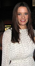 Gina Holden Elizabeth Rowin Saw 3D premiere cropped.jpg