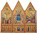 Giotto. The Stefaneschi Triptych (recto) c.1330 220x245cm. Pinacoteca, Vatican..jpg