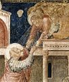 Giotto di Bondone - Scenes from the Life of St John the Evangelist - 3. Ascension of the Evangelist (detail) - WGA09301.jpg