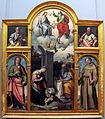 Giovan filippo criscuolo, adorazione del bambino e santi, 1545, Q329.JPG