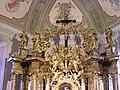 Glavni oltar franjevačke crkve u Osijeku (detalj).jpg