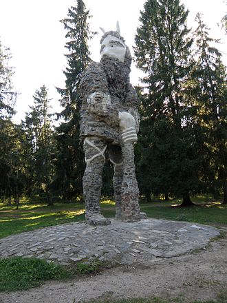 Glehn Castle - Image: Glehni Kalevipoeg 2