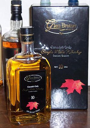 Glenora Distillers - Glen Breton Rare with Collector's Case