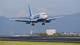Global Air Boeing B737-200. Operated by Easy Sky (Honduras).jpg