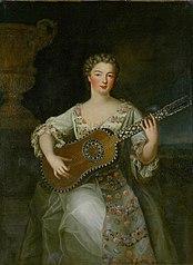 portrait of mademoiselle de Charolais
