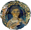 Gold-glass portrait of a woman (Corning Museum of Glass).png