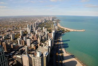 Lake Michigan - Chicago's Oak Street Beach