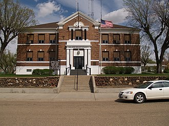 Golden Valley County, North Dakota - Image: Golden Valley County Courthouse