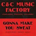 Gonna Make You Sweat (Everybody Dance Now) European 7-inch vinyl.jpg