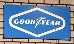 Good Year enamel advert sign at the den hartog ford museum pic-066.JPG