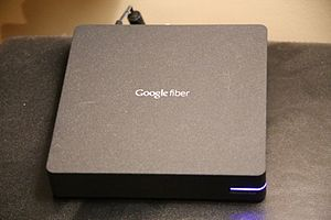 Google Fiber - Google Fiber Network Box