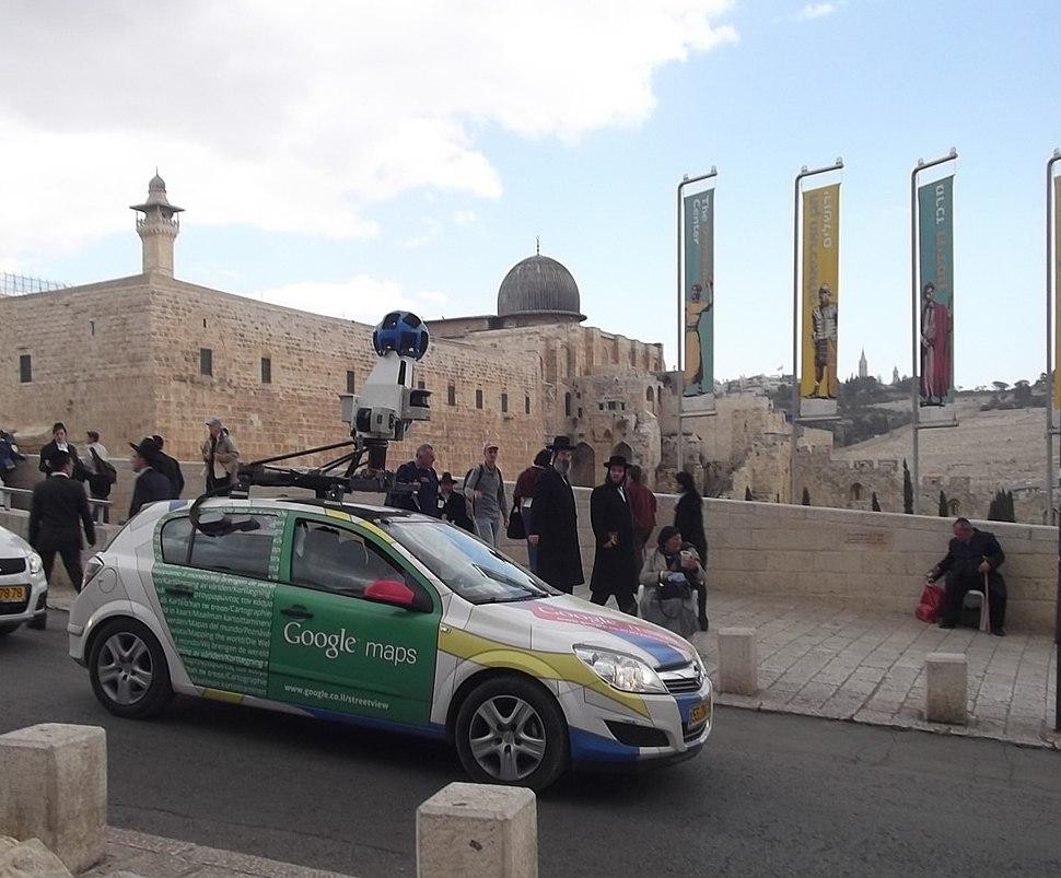Google street view near al aqtsa