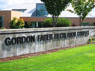 Gordon Faber - The Gordon Faber Recreation Complex
