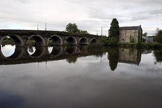 Goresbridge Town in Leinster, Ireland