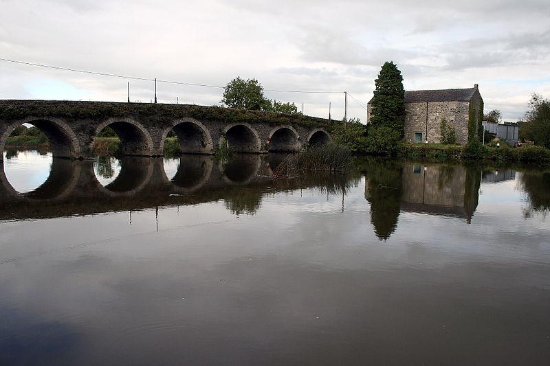 Goresbridge over the River Barrow