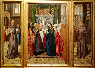 Triptych of the Presentation of Jesus in the Temple