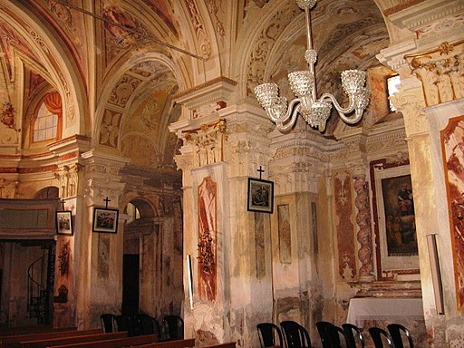 Gottasecca. Santuario della Madonna Assunta Interno2