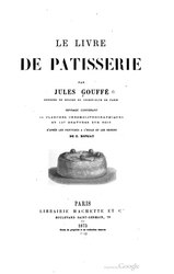 Le Livre de Pâtisserie