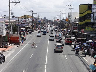 Governor's Drive - Image: Governor's Drive GMA town proper (Governor's Drive, Gen. Mariano Alvarez, Cavite; 2017 03 16)