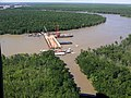 Governor Jindal tours sinkable barge project in St. Mary Parish.jpg