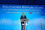 Governor of Florida Jeb Bush at Southern Republican Leadership Conference, Oklahoma City, OK May 2015 by Michael Vadon 137.jpg