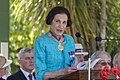 Governor of New South Wales Professor Marie Bashir giving the address at the Centenary of the Kangaroo March launch (1).jpg
