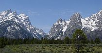 Le Grand Teton au Wyoming