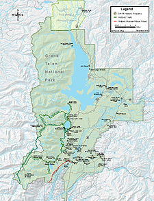 Historical buildings and structures of Grand Teton National ... on map of aspen, map of teton range, map of yellowstone, map of mt. mckinley, map of capitol reef, map of jasper, map of isle royale, map of denali, map of teton mountains, map of kobuk valley, map of san juan mountains, map of niagara falls, map of mt. rainier, map of travel, map of salt lake city, map of sangre de cristo mountains, map of north cascades, map of snow, map of titicaca, map of wyoming,