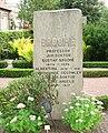 Grave of professor Gustaf Broomé klosterkyrkogården, Lund, Sweden.jpg