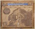 Graverad och handkolorerad karta över Skandinavien från 1692 - Skoklosters slott - 95150.tif