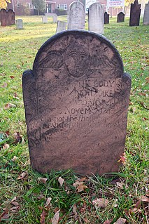 Headstone Stele or marker, usually stone, that is placed over a grave