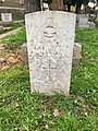 Gravestone of Leading Aircraftman Leslie Cook at St Mary, Whitchurch, April 2020 03.jpg