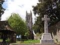 Great War Memorial outside St.Marychurch Parish Church - geograph.org.uk - 1053997.jpg