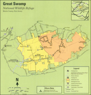 Kafi Benz - Image: Great swamp map