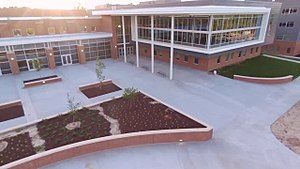 Apex High School - Image: Green Level