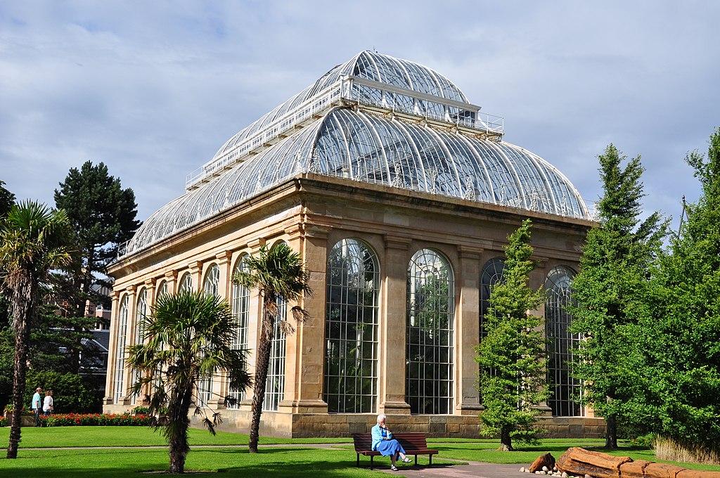 Serre tropicale du jardin botanique d'Edimbourg - Photo de Eldubhe