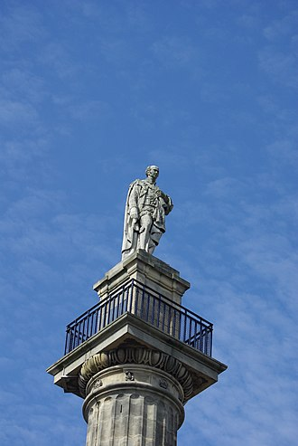 Earl Grey - Grey's Monument in Newcastle