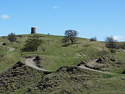 Grinlow Tower aka Solomon's Temple in Buxton Country Park