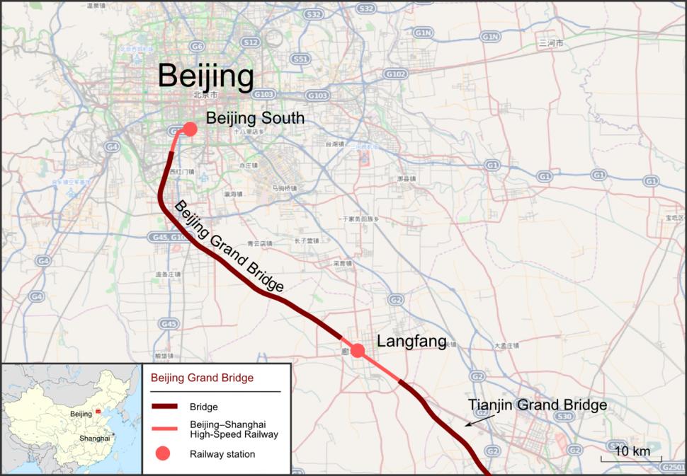 Gro%C3%9Fe Br%C3%BCcke von Peking en