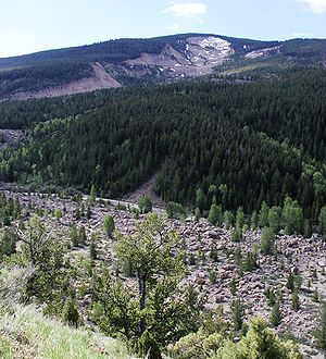 Kelly, Wyoming - The Gros Ventre Slide