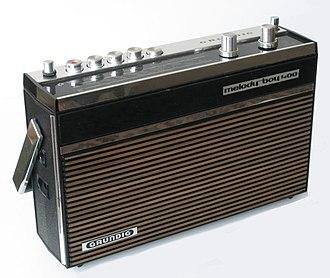 Grundig - Grundig melody boy 400 radio