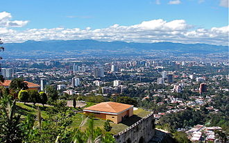 Guatemala City - Guatemala City from Carretera a El Salvador