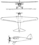 Guerchais-Henriot 5 3-view L'Air November 15,1929.png