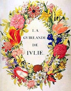 <i>Guirlande de Julie</i> book
