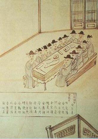 Gabo Reform - Officials of Gungukgimucheo