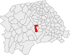 Location in Suceava County