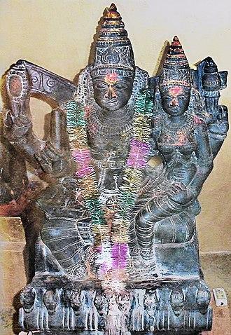 Taraka (goddess) - Brihaspati with Tara